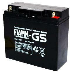 FIAMM Bleiakku FGC21803 Zyklen-Type 12,0V 18 Ah mit M5-Schraubanschluss