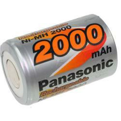 Panasonic HHR-20SCPA04 4/5SC (Sub-C) 1,2 Volt 2000mAh NiMH