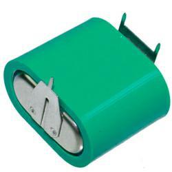 VARTA Knopfzellen Akku 4/V150H 4,8Volt 150mAh NiMH 4er Säule mit3er Printanschlüssen