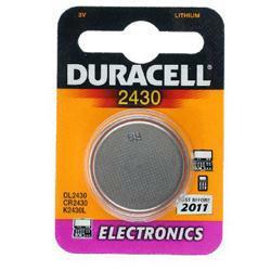 Duracell DL2430 Lithium-Knopfzelle CR2430 3,0Volt