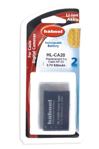Hähnel Akku passend für Casio NP-20 3,7Volt 730mAh Li-Ion (kein Original)