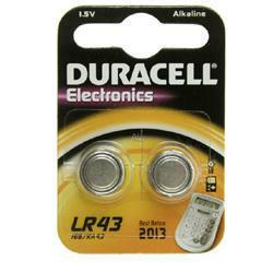 Duracell LR43 knopfzelle mit 1,5 Volt