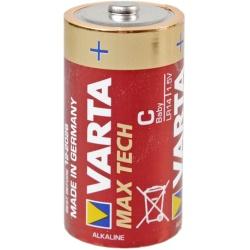 Varta Max Tech LR14 Batterie Test