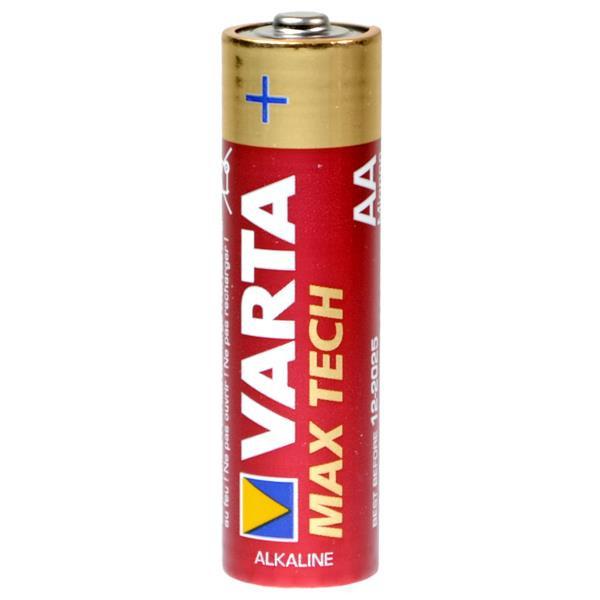 Varta AA Batterien 4706 Max-Tech Mignon LR6 - 4er Blister