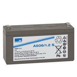 Exide Sonnenschein Bleiakku Dryfit A506/3.5S 6,0Volt 3,5Ah mit 4,8mm Steckanschlüssen