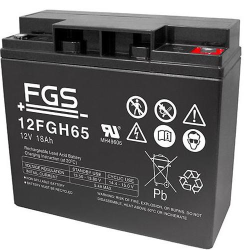 FGS Hochstrom Bleiakku 12FGHL75 (FGH21803) 12 Volt 17 Ah mit M5 Schraubanschluss