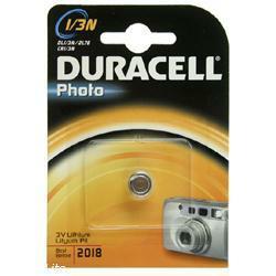 Duracell DL1/3N 3 Volt Photo Lithium Batterie