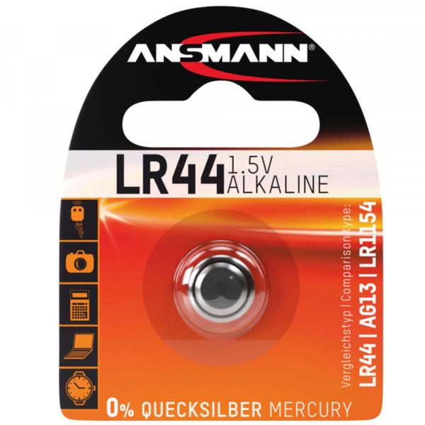 Ansmann LR44 Knopfzelle 1,5Volt 145 mAh