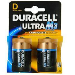 Duracell MN1300 Ultra Power Mono (D) Batterie 1,5Volt ( 2 Stück)