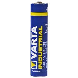 Varta Industrial Micro AAA Test, erreichte Zeit: 61 Min.