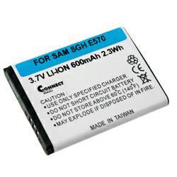 Akku passend für Samsung AB503442BECSTD 3,7Volt 550mAh Li-Ion (kein Original)