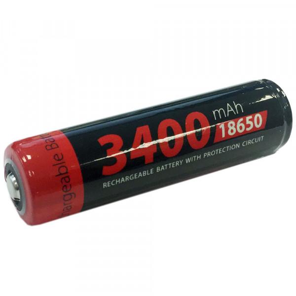 Xcell 18650 LiIon Akku geschützt 3400mAh 3.6V/3.7V