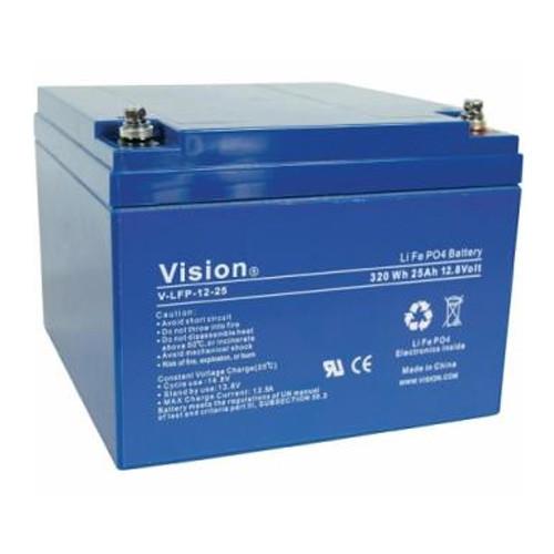 Vision LFP1240 LiFePo4 Akku mit 12 Volt und 40Ah, 480Wh