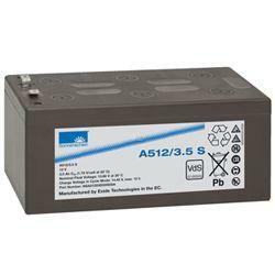 Exide Sonnenschein Bleiakku Dryfit A512/3.5S 12,0Volt 3,5Ah mit 4,8mm Steckanschlüssen