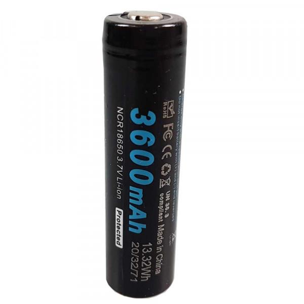 Soshine Li-ion 18650 Protected Akku 3600mAh 3.7V