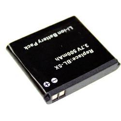 Akku passend für Nokia Nokia 8800 (BL-5X) 3,7Volt 600mAh Li-Ion (kein Original)