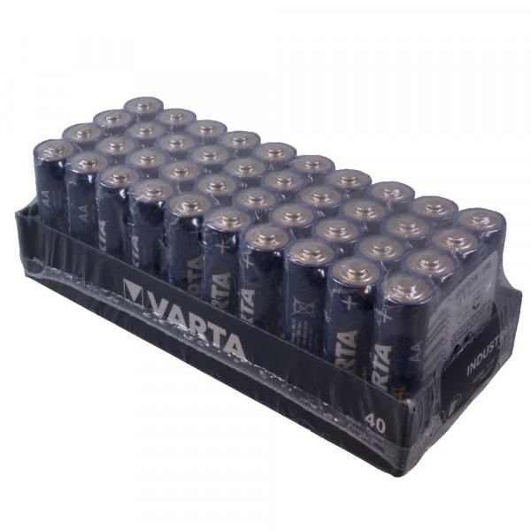Varta Mignon Batterien Inhalt: 40St. 4006 LR6 AA Mignon 1,5Volt