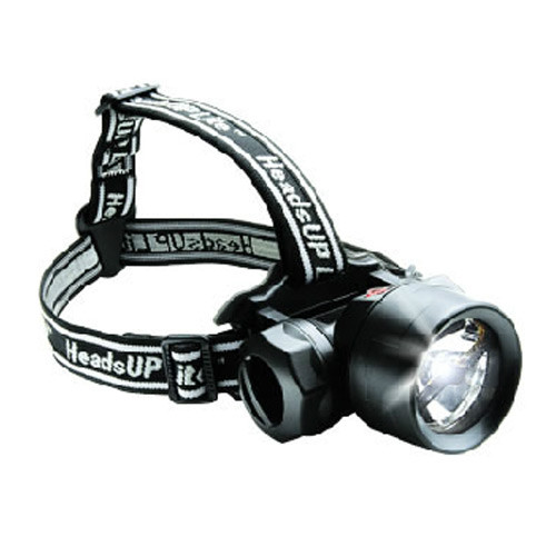 Peli 2680 HeadsUp Lite Recoil LED Kopfleuchte, inkl. Batterien