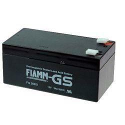 FIAMM Bleiakku FG20341 12,0Volt 3,4Ah mit 4,8mm Steckanschlüssen