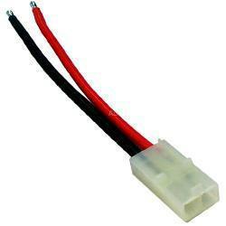 Akku Power Kabel-Zubehör Tamiyabuchse mit Silikonkabel