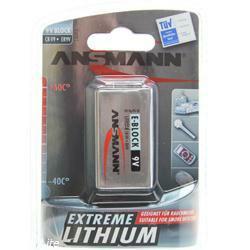 Ansmann Extreme Lithium 9V-Block 6AM6 im Blister