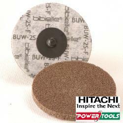 HiKoki Vlieskompaktscheiben Power Super Finish, BUR, Durchm.: 51 mm, 2sfin (10Stk.)