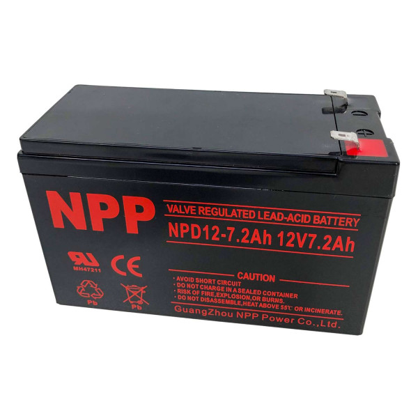 NPP Blei-Akku NPD12-7.2 12V / 7,2Ah Zyklentyp