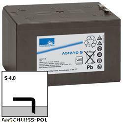 Exide Sonnenschein Bleiakku Dryfit A512/10S 12,0Volt 10,0Ah mit 4,8mm Steckanschlüssen