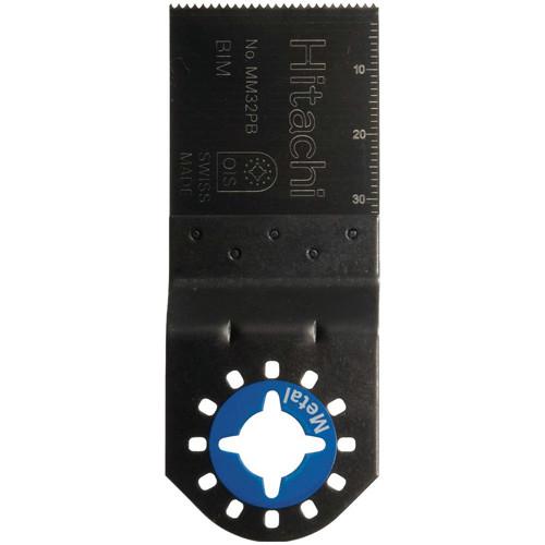 5er Pack MM32Pb Sägeblatt für Metall, 32 mm breit, passt auf HiKoki Multitool