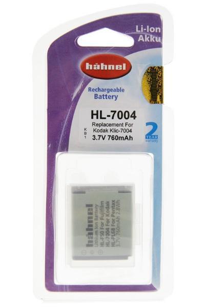 Hähnel Akku passend für Kodak KLIC-7004 3,7Volt 760mAh Li-Ion (kein Original)
