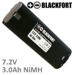Ersatzakku für Makita 7033 mit 7,2V 3,0Ah Ni-MH - kein Original