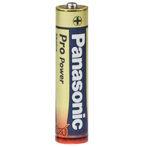 PANASONIC Standard Batterie Micro 4 Stück Pro Power LR03PPG im Blister