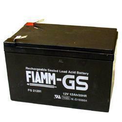 FIAMM Bleiakku FG21202 12,0 Volt 12 Ah mit 6,3mm Steckanschlüssen