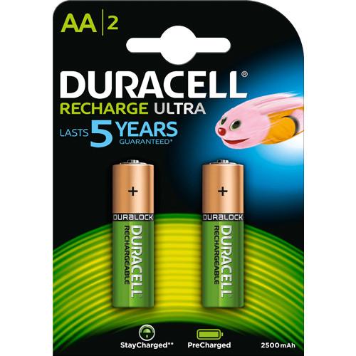 Ready-2-use Ultra AA Akkus 2500mAh 1,2V HR06 2er Blister