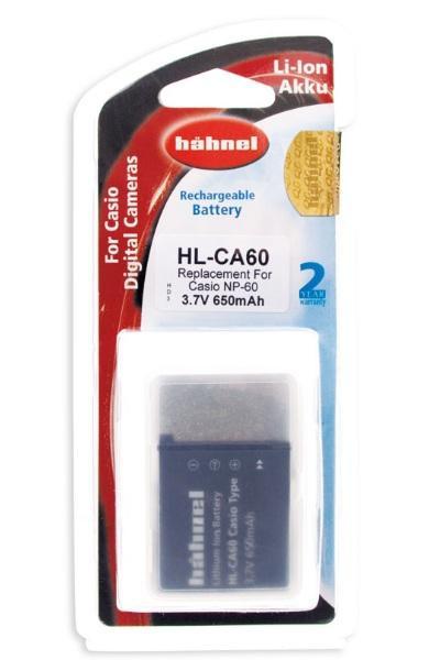 Hähnel Akku passend für Casio NP-60 3,7Volt 650mAh Li-Ion (kein Original)