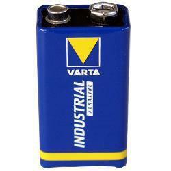 Varta 9V E-Block Batterie Industrial Alkaline 4022 6LR61