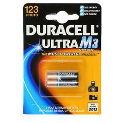 Duracell DL123 Ultra M3