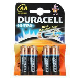 Mignon Duracell MN1500 Ultra Power LR06 Batterien - 4er Blister