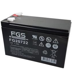 FGS FG20722 12V 7.2Ah Akku Test