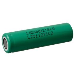 LG ICR18650-HB2 Test, erreichte Zeit: 21 Min.