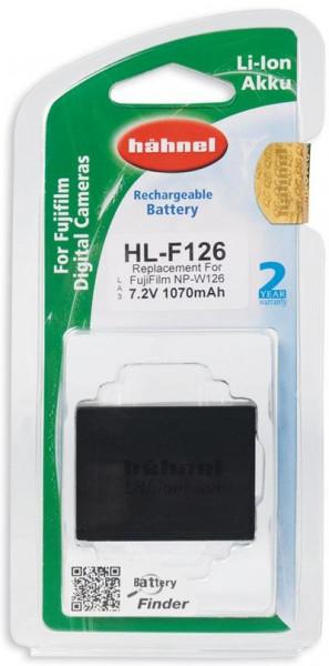 Hähnel Akku passend für Fuji NP-W126 7,4Volt 1.070mAh Li-Ion (kein Original)