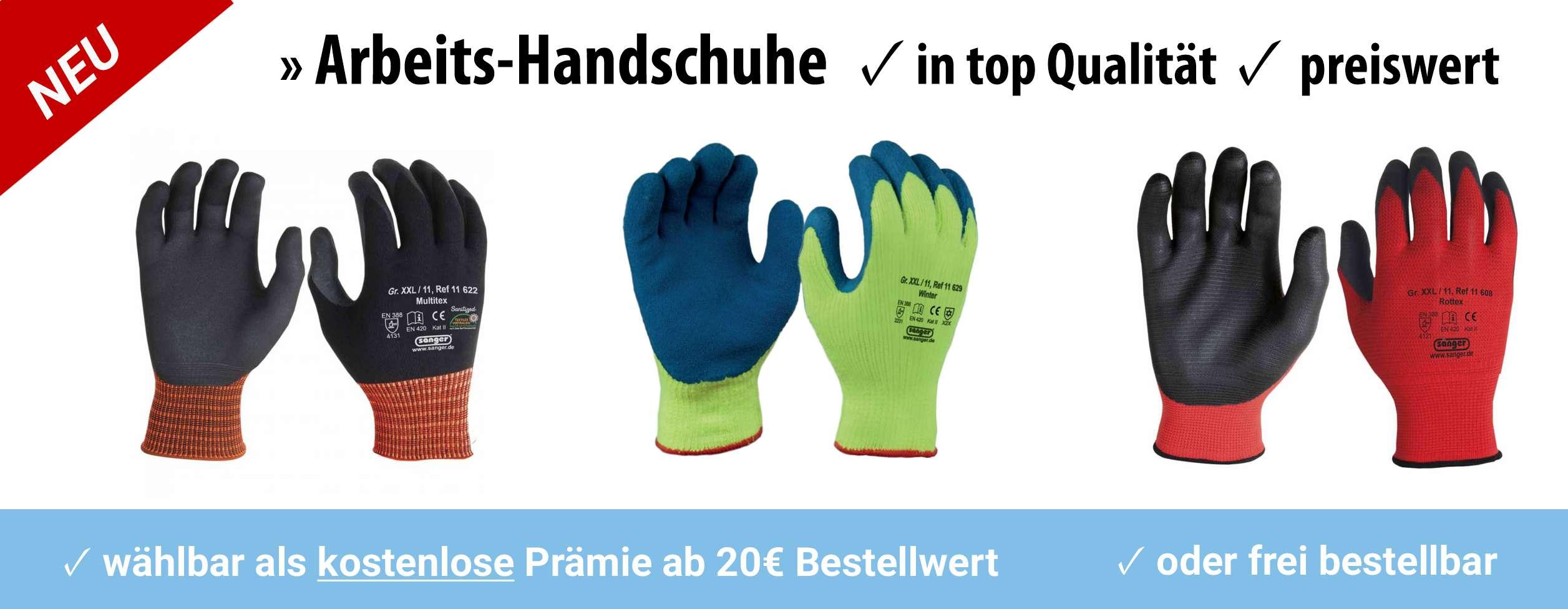 robuste Arbeits-Handschuhe