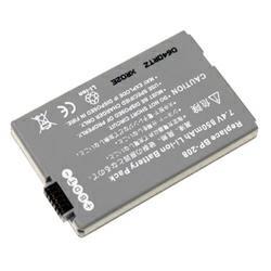 Akku passend für Canon BP-208 7,4Volt 700-850mAh Li-Ion (kein Original)