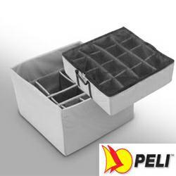 PELI 0345 Ersatz-Einteilungssystem für Würfelkoffer 0340, 2-teilig