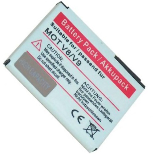 Akku passend für Motorola Razr V8, V9 mit 3,7V 600mAh Li-Ion (kein Original)
