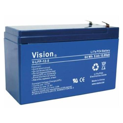 Vision LFP124.5 LiFePo4 Akku mit 12 Volt und 4,5Ah, 54Wh