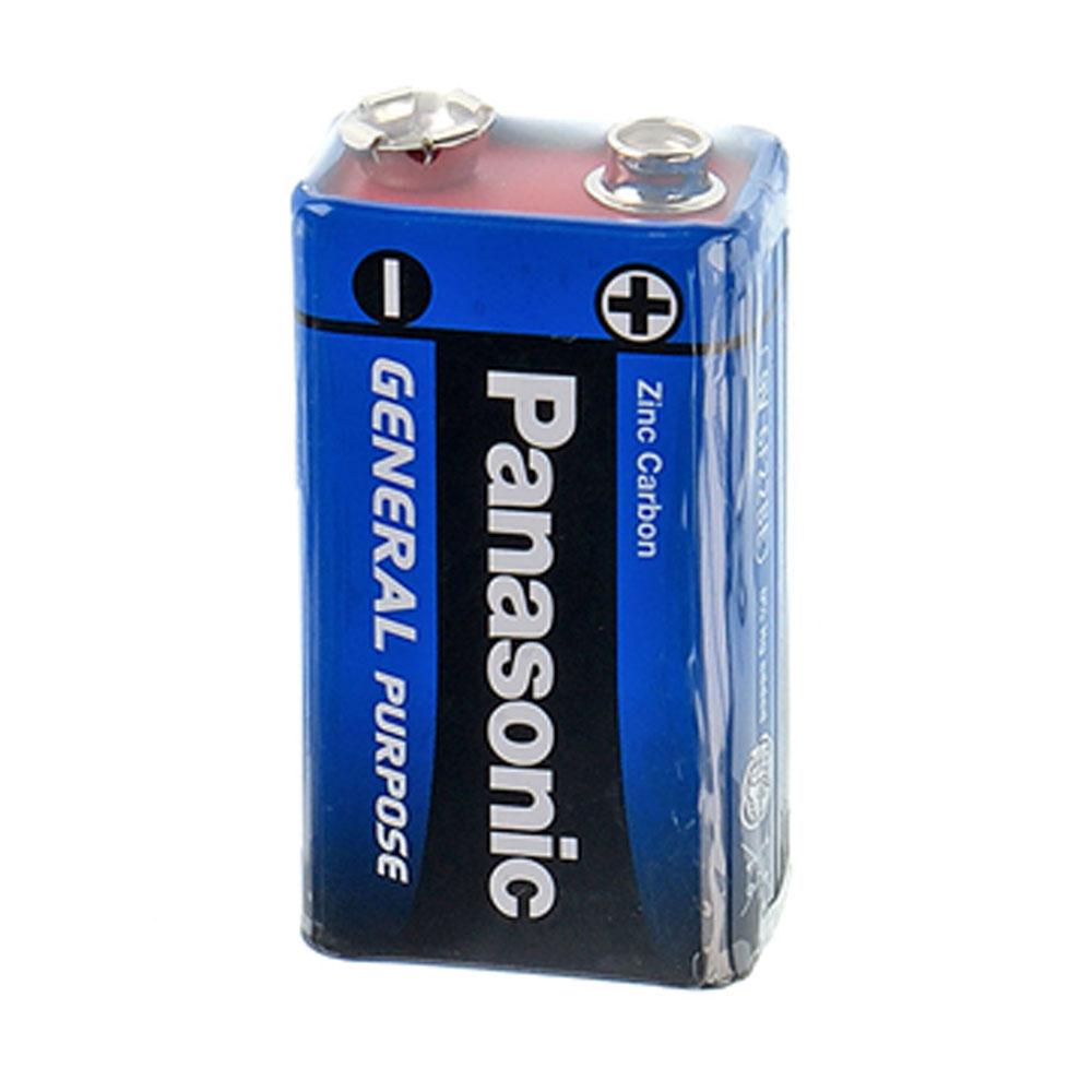 Panasonic 9V Zinc Carbon Test, erreichte Zeit: 26 Min.