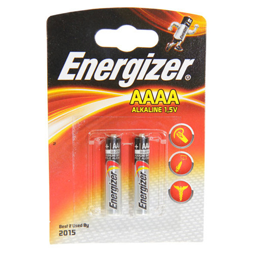 Energizer Batterie E96 AAAA im 2er Blister LR61