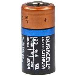 Duracell CR123 Ultra Lithium Test, erreichte Zeit: 156 Min.