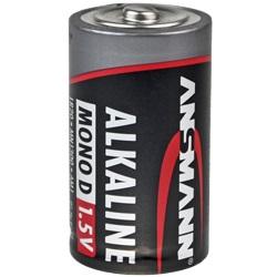 Ansmann RED Alkaline Mono Batterie Test